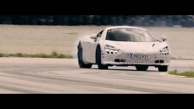 画像: Behind the scenes drifting the 2nd generation McLaren Super Series on track youtu.be