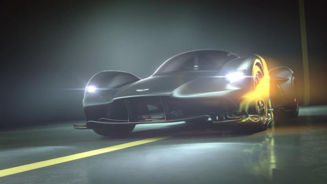 画像: The Aston Martin Valkyrie: AM-RB 001 hypercar officially named www.youtube.com