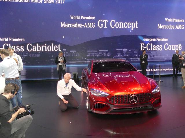 画像: 4ドアクーペのスーパーカーのコンセプトがメルセデス・AMGから登場
