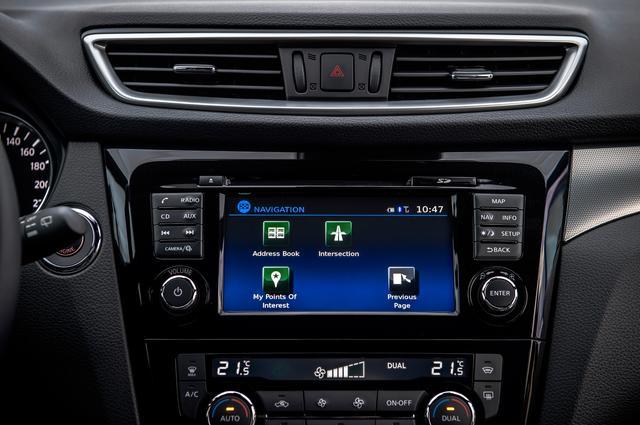 画像: 新しいユーザーインターフェースをが採用された「NissanConnect」。