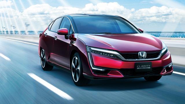 画像: 世界で初めて同一プラットフォームにPHEV、EV、そして燃料電池自動車(FCV)という3種類の電動パワートレーンの選択肢を取り揃える。