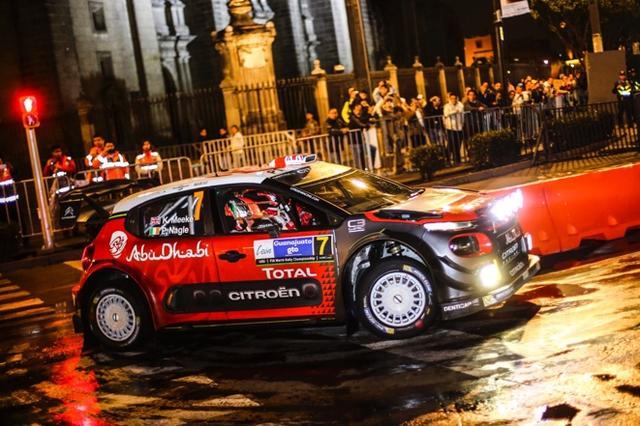 画像: 第3戦ラリー・メキシコを制したクリス・ミーク/ポール・ネーグル(シトロエン C3 WRC)