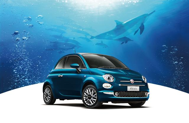 画像: 【モデル名】フィアット500マーレブル   ボディカラー:エピックブルー(新色、限定車専用)