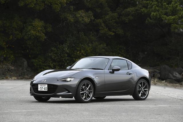 画像1: マツダ ロードスターRF VS 6速MT仕様車。