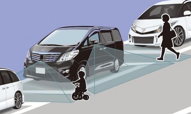 画像: SVS-120 を使えば死角を減らす効果もあり、駐車場などでの思わぬ事故の防止にも役立ちます。