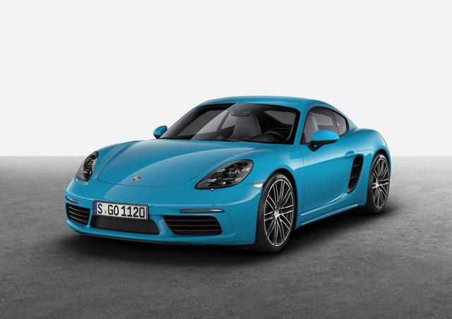 画像: ポルシェケイマン。本格的なミッドシップスポーツカーとして存在価値はますます高まっている。