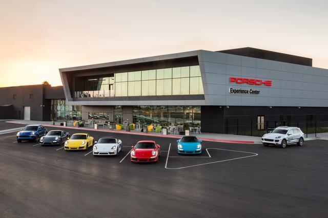 画像: 2016年、ロサンゼルスにオープンしたポルシェ エクスペリエンス センター。