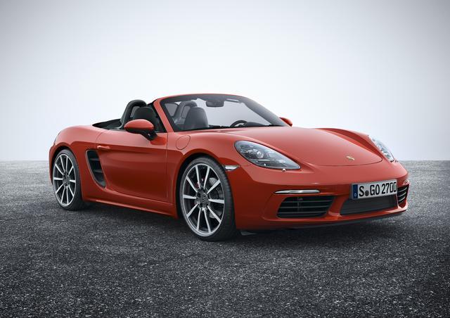 画像: ポルシェボクスター。911とはまた異なるジャンルのスポーツカーとして魅力たっぷり。