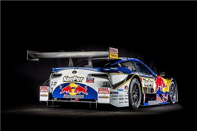 画像: リアエンドにも、2匹のレッドブルが描かれている。(Kunihisa Kobayashi / Red Bull Content Pool)