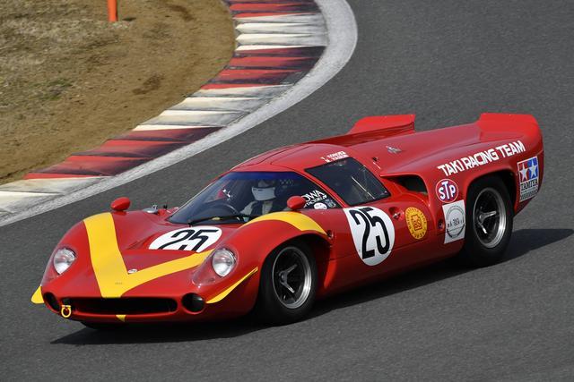 画像: タキ・レーシング ローラT70 Mk3(1968年) 当時は長谷見昌弘が乗ったマシン、ドライバーは河野義和