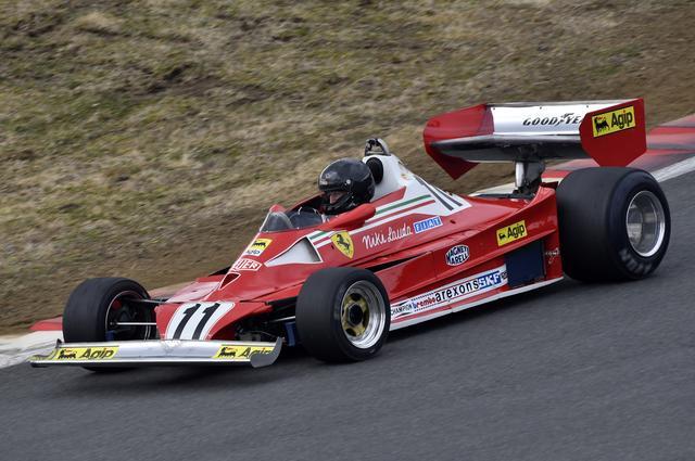 画像: フェラーリ312T2(1977年) 当時のドライバーはニキ・ラウダ