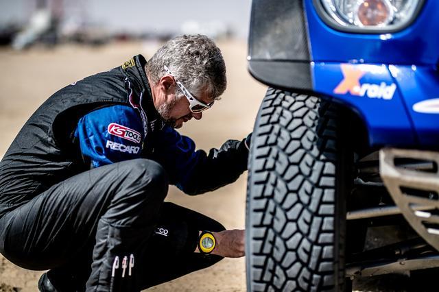 画像: MINI ALL4レーシングのもう一人のドライバーXavier Panseri(フランス)。