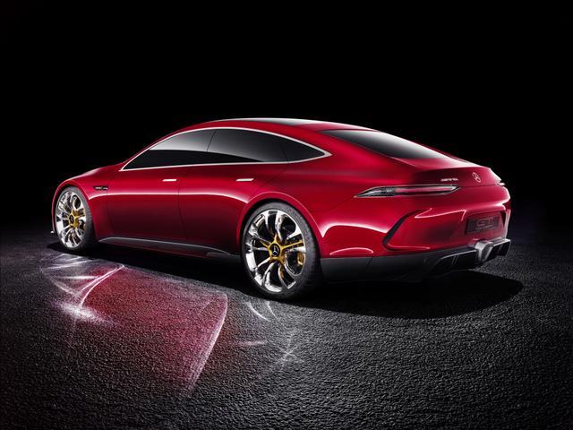 画像2: メルセデスAMG GT コンセプト。