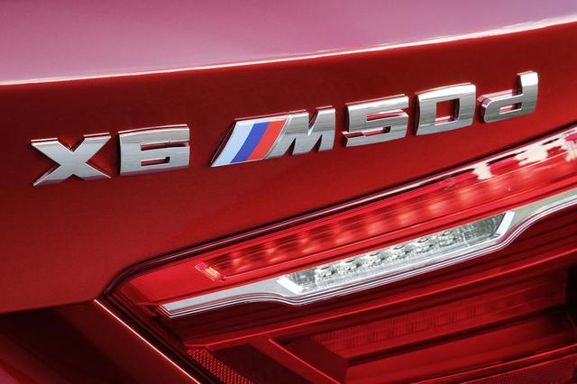 画像: BMW X6 M50dは直列6気筒の3Lツインターボディーゼルエンジンを搭載。