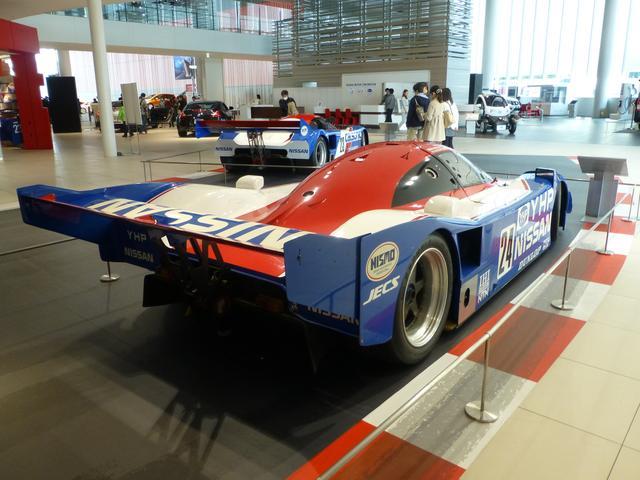 画像: Nissan R90CPリア。