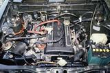 画像: T型エンジンのヘッドをヤマハがDOHC化した2T-G型。115psの最高出力と14.5kgmの最大トルクを発生。5速ミッションと組み合わされた。
