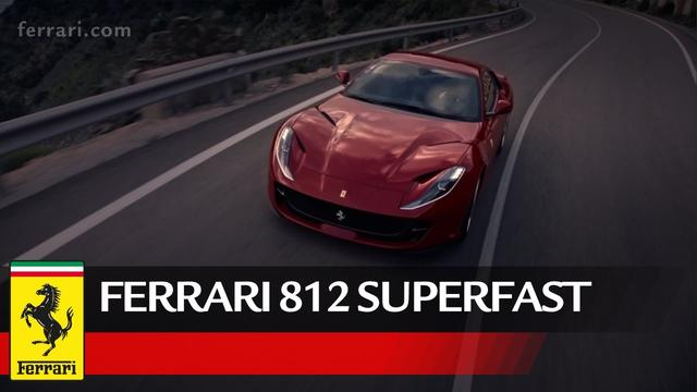 画像: Ferrari 812 Superfast - Official Video www.youtube.com