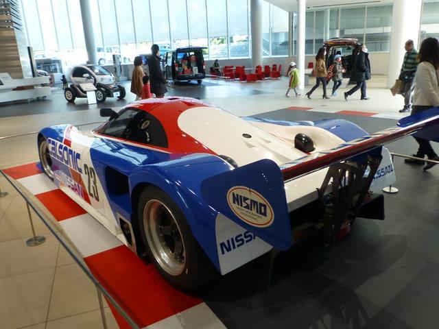 画像: Nissan R89Cリアデザイン。