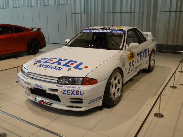 画像: R32スカイラインGT-R(25号車) 1991 Spa 24時間レース参戦車
