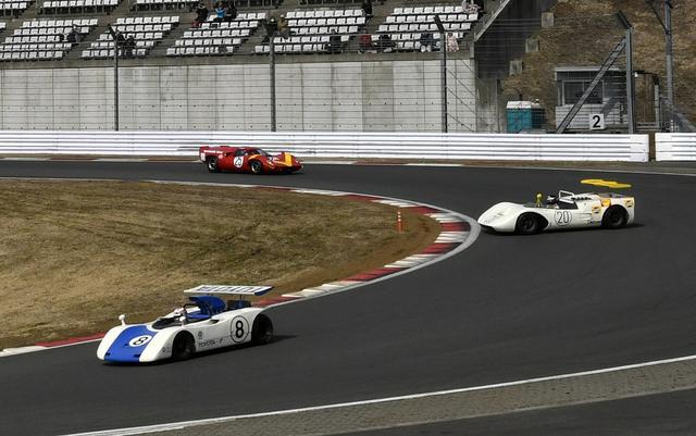 画像: 1968,69年日本グランプリはトヨタ、日産にタキレーシングを加えた「TNT対決」と呼ばれた