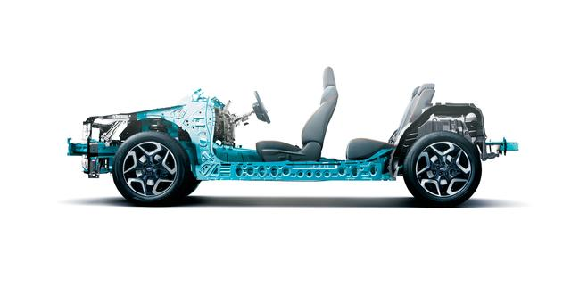 画像: インプレッサから採用された「スバル・グローバル・プラットフォーム」を採用。安全性能と走行性能を飛躍的に進化させている。