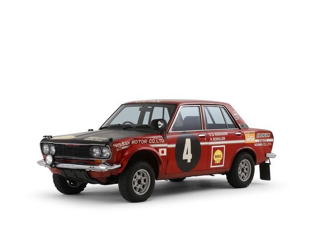 画像2: 世界を席巻した3台の日産ラリー車