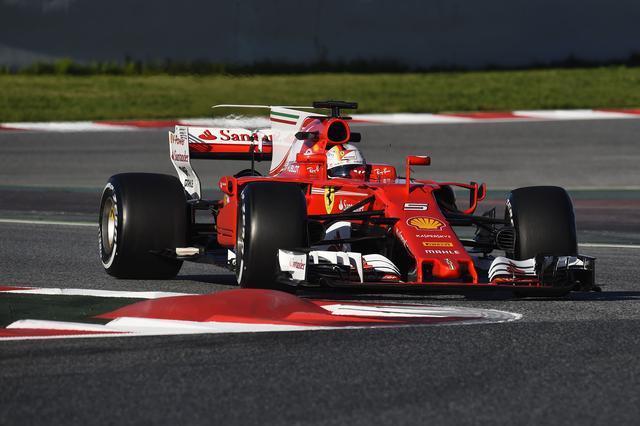 画像: チャンピオン奪還を狙うセバスチャン・ヴェッテル(フェラーリ)