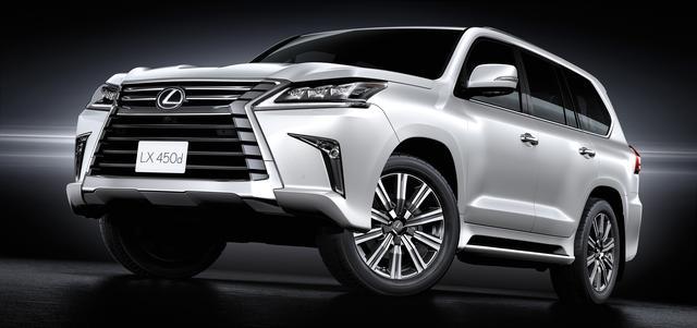 画像: 圧倒的な走破性と快適性を兼ね備え、北米や中東諸国で高い人気を誇るフラッグシップ SUV「LX450d」