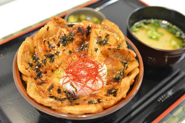 画像: 有珠山SA(上り)「黄金豚丼」