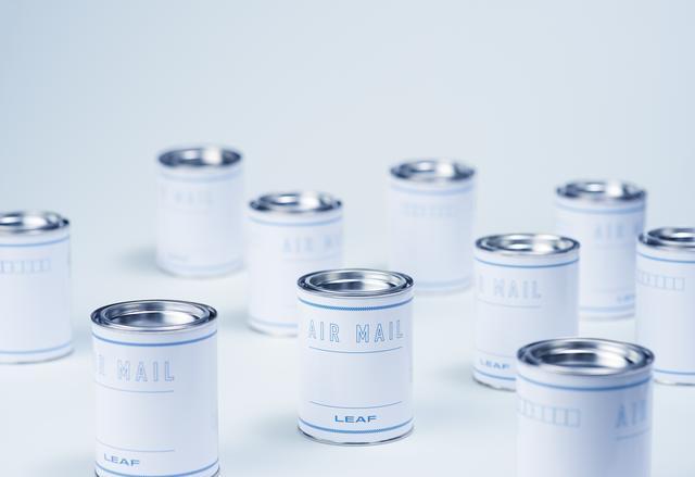 """画像: AIR MAIL 旅先でフタを開けて締める。新鮮な""""空気""""をおすそ分けできる空き缶。"""