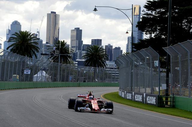 画像: 1回目のピットストップでトップに立つと、最後までレースをコントロールしたヴェッテル(フェラーリ)。