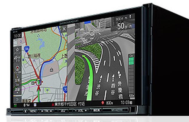 画像: DIATONE SOUND.NAVI NR-MZ200 フリック、ピンチイン/アウトといった「スマホライク」な操作性も特徴のひとつ。モニターも見やすさにこだわり抜いている。次世代型ITS「ETC2.0」との連携など、カーナビに求められる最新機能を網羅している。 フルセグ・ワンセグ対応地上デジタルTVチューナー(12seg+1seg)内蔵 7V型WVGAモニター/DVD・CDメカ内蔵 メモリーナビゲーションシステム(Bluetooth®内蔵) www.mitsubishielectric.co.jp