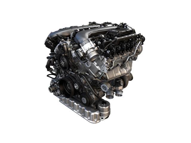 画像: ベンテイガに搭載されたブランニューのW12エンジン。これのみストロークが89.5mmで総排気量は5950cc。