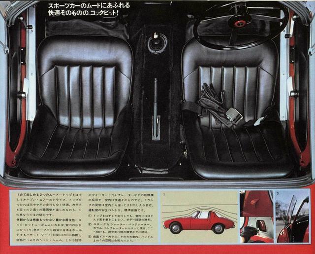 画像: ホールド性の良いバケットシートを採用。運転席には安全ベルトが標準装備。シートは120mmの前後スライドが可能。