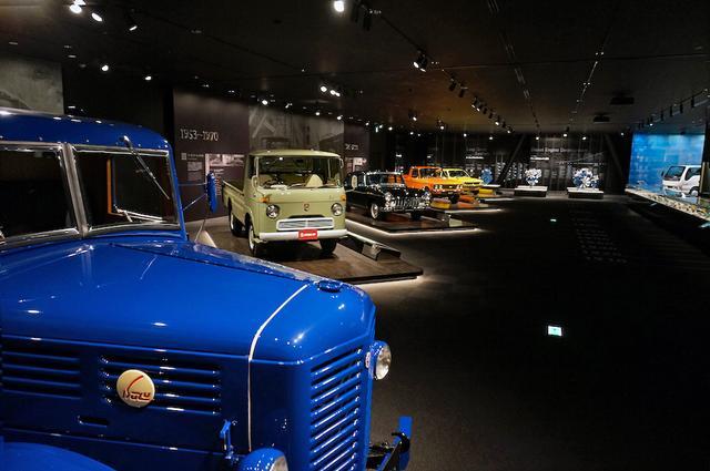 画像: いすゞが生み出してきた数多くの車両を、時代背景とともに実車やミニチュアカーで紹介。