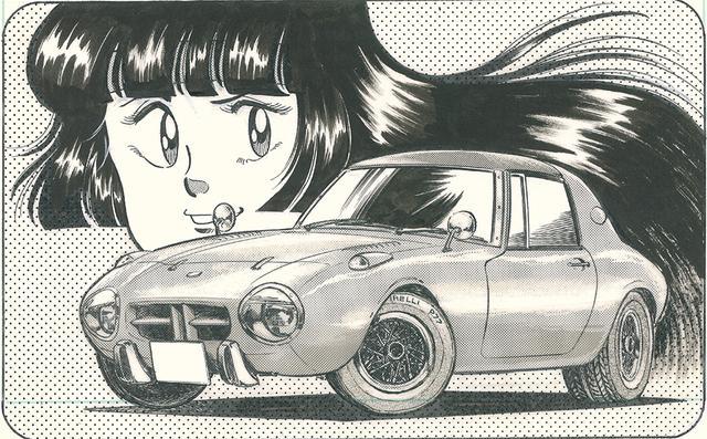 画像: 「よろしくメカドック」では、たったひとりの女暴走族「女暴小町(すけぼうこまち)」こと小野麗子の愛車として活躍した。ⓒ次原隆二/NSP 1982
