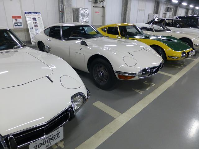 画像: トヨタ博物館には5台のトヨタ2000GTが収蔵されているが、4台は通常、バックヤード(保管庫)に保管されていて、一般の来場者が目にする機会はない。