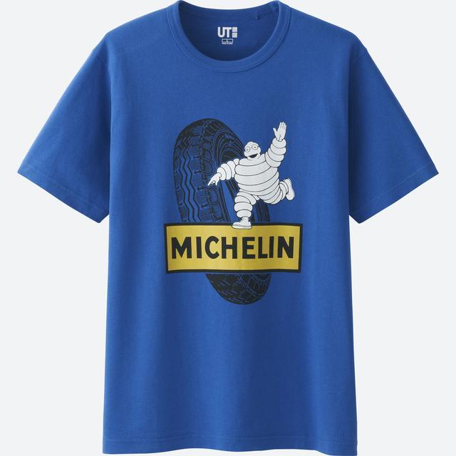 画像: 【ニュース】今年もユニクロTシャツ「UT」にミシュランマン登場 2017年4月3日