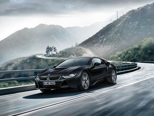 画像3: BMW i8 プロトニック フローズン ブラック