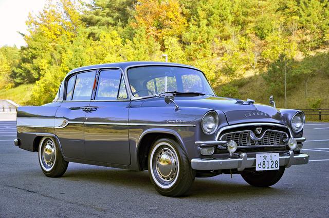画像: 初代クラウンにはディーゼルエンジン搭載車も設定されていた(写真はガソリンエンジン搭載車)。