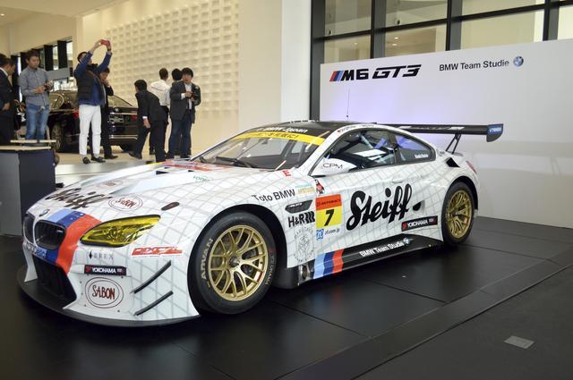 画像: 2017年シーズンを戦う、BMW M6 GT3。ドライバーはヨルグ・ミューラーと荒 聖治。