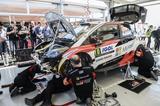 画像1: 【WRC】トヨタ、ツール・ド・コルスで4位フィニッシュ