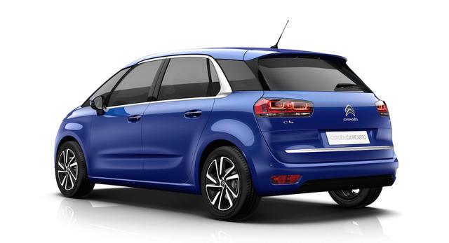 画像: 5シーターモデル C4 PICASSO SHINE 1,598cc ガソリン/6EAT 【121kW(165ps)/6,000rpm 240Nm/1,400-3,500rpm】 ¥3,470,000 C4 PICASSO SHINE BlueHDi 1,997cc ディーゼル/6EAT 【110kW(150ps)/4,000rpm 370Nm/2,000rpm】¥3,720,000