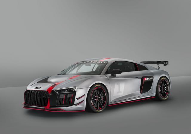 画像: Audi R8 LMS GT4。市販車との共通部品を使うことでユーザーには大きな経済的メリットが生じる。