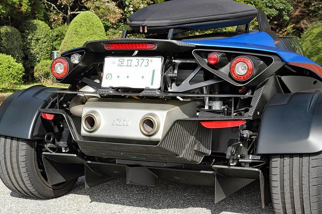 画像: わずか847kgの車重で210ps/420Nmもあるから、0-100km/h加速は4.1秒! 最高速も231km/h。