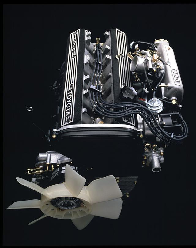 画像: 当時、国内最強のスペックを誇った5M-GEU型直6DOHC。