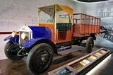 画像: 1924年(大正13年)に第一号車が製造された、ウーズレーCP型トラック。経済産業省認定「近代化産業遺産」に登録されている。