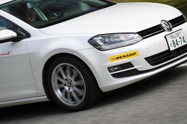 画像: VWゴルフやアウディA4など、引き締まった乗り味を持つ欧州車に履くと、快適性と素直な走りを両立していると感じた。