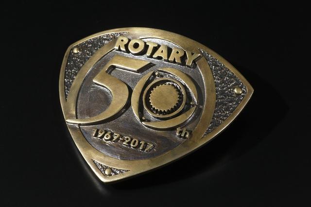 画像: ROTARY 50th Aniv.ベルトバックル 4500円 ※ベルトバックルは5月中旬発売予定です。