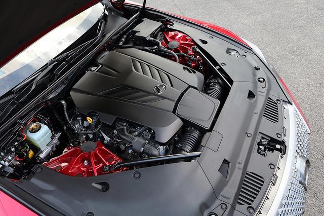 画像: レクサスLC500が搭載する5L V8DOHC。RC Fと基本的には同じエンジンだ。
